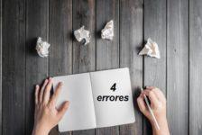 4 Errores que impiden que alcances tu potencial