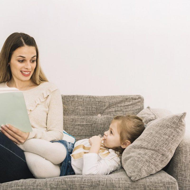 Las emociones en los niños se gestionan mejor cuando se les lee