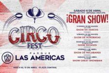 Parque las Américas celebra la premiere de la película Dumbo de Disney con Circo Fest