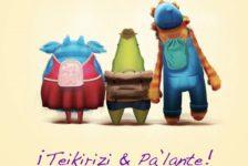¡Teikirizi y Pa'lante! el inédito libro infantil de Alan Tenenbaum w.