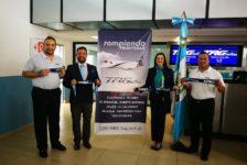 TAG Airlines inaugura vuelo directo Guatemala-Tegucigalpa