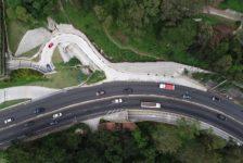 Inauguran paso a desnivel ubicado en el Km 9.5 Carretera a El Salvador
