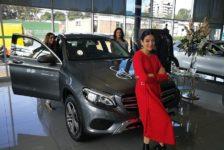 She`s Mercedes, inspira, empodera y conecta.