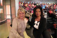 Martha Stewart y Oprah Winfrey, dos mujeres ejemplares