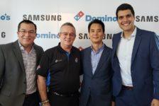 Samsung y Domino's