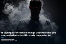 AHA: ataques al corazón no están vinculados al consumo de cigarros electrónicos