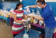 Henkel, apoya a familias vulnerables en Mixco y Villa Nueva