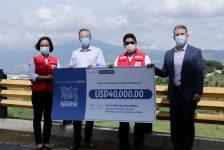 Nestlé entrega donativo