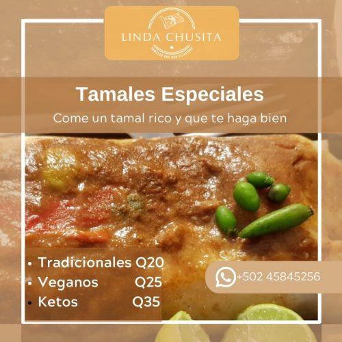 Linda Chusita – Tamales