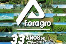 Foragro celebra 33 años al servicio del agricultor